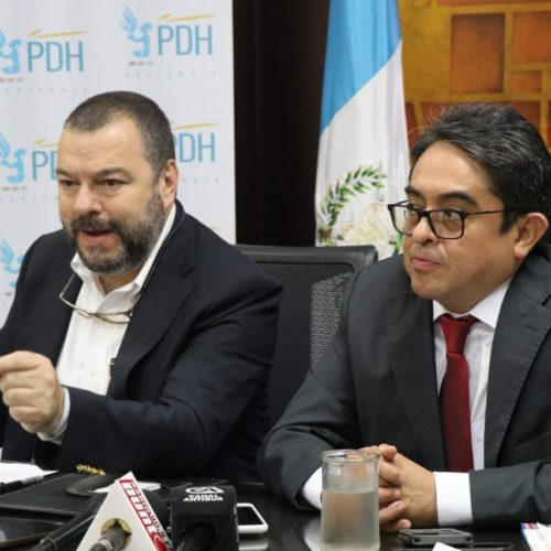 GANHRI Chairperson expressed his support to the work of the Ombudsman of Guatemala